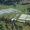 Aerial view of Bill Keast's farm